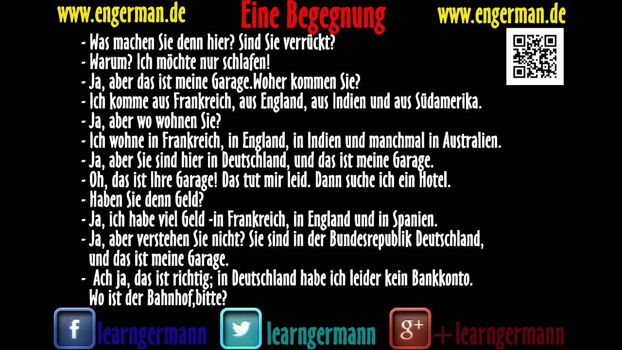 Please Auf Deutsch