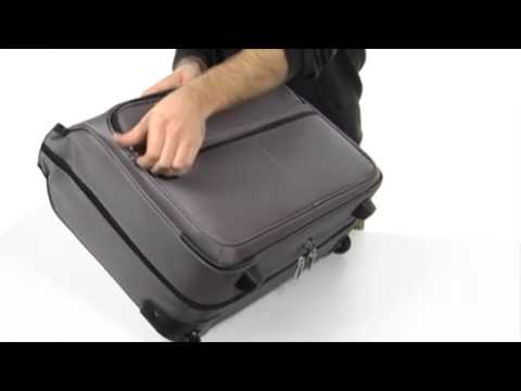 5b15f076da27 Samsonite L.I.F.T Carry On Wheeled Garment Bag SKU  8047533 - YouTube