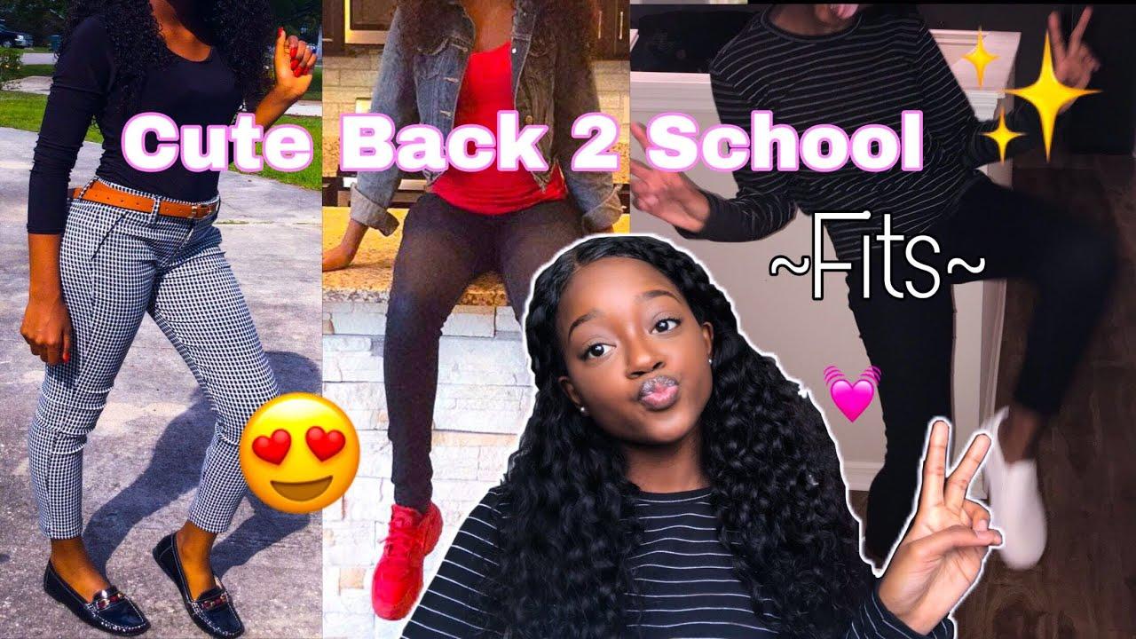 [VIDEO] - Back 2 School? Outfit Ideas ? |Dsoar Hair| 2
