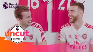 Chambers & Holding | Who's Their ULTIMATE Premier League Teammate? | Uncut @ Arsenal | AD