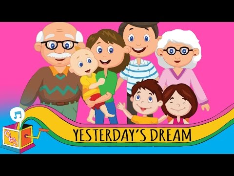 Yesterday's Dream | Children's Song | Karaoke