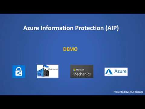 Azure Information Protection Demo