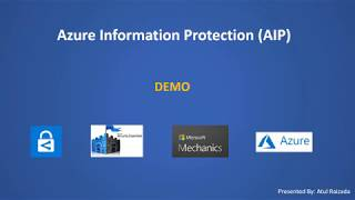 Gambar cover Azure Information Protection Demo