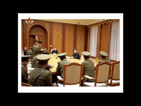 Kim Jong Un Guides Emergency Enlarged Meeting of WPK Central Military Commission