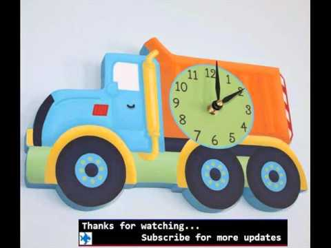 Wall Clocks For Kids Room| Kitchen Clocks Designs