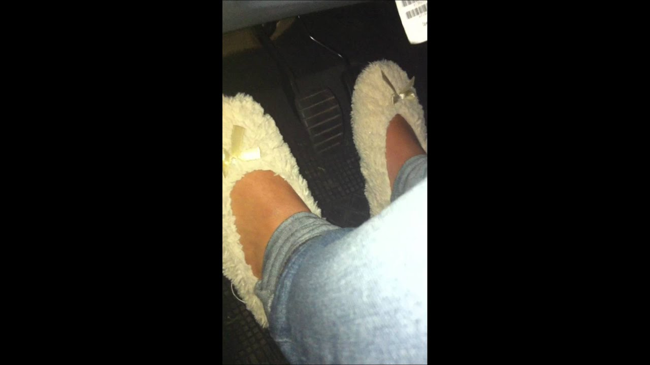 Pedal Pumping Flooring : Pedal pumping in slippers youtube
