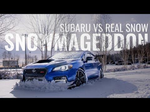 CAN THE SUBARU WRX HANDLE A SNOW STORM? ALTIMAX ARCTIC VS SNOW VS SUBARU