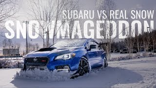 CAN THE SUBARU WRX HANDLE A SNOW STORM? ALTIMAX ARCTIC VS SNOW VS SUBARU