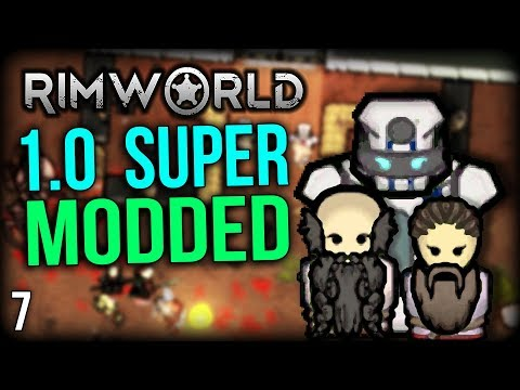 RimWorld 1.0 Modded | Centralized Climate Control! | RimWorld Mods Gameplay Part 7