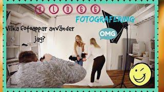Photoshoot, mat och mina fotoappar | vlogg