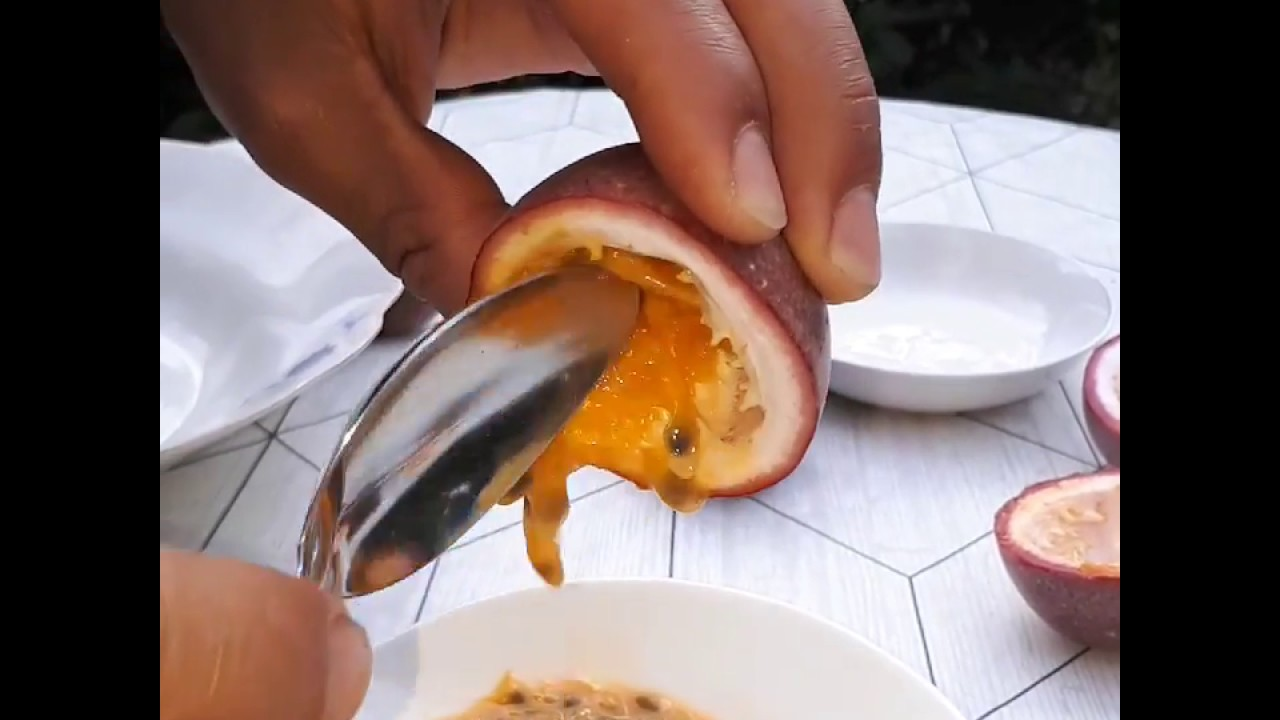 Passion Fruit Juice عصير فاكهة العاطفة او الباشن فروت Youtube