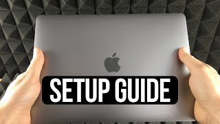 How to SetUp New MacBook Air | first time turning on Manual - step by step guide