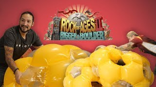 boulder crash course rock of ages ii gameplay