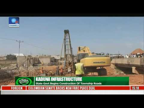 Kaduna Begins Construction of Township Roads