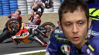 Valentino Rossi, Angkat Bicara Soal Insiden Tabrakan Dovizioso, Lorenzo dan Pedrosa