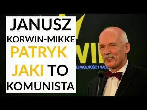 Janusz Korwin-Mikke u Gadowskiego: Patryk Jaki to komunista! Jest niebezpiecznym człowiekiem!
