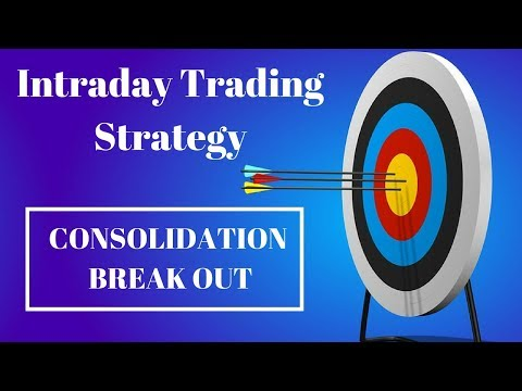 Simple Intraday Trading Strategy :- Consolidation Range Break Out