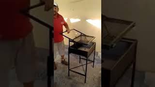 Mangal başında ızgarayı çevirmekte zorlananlar için mükemmel çözüm