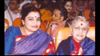 M.S.Subbulakshmi - Jokhon Porbe Na Mor -Bengali