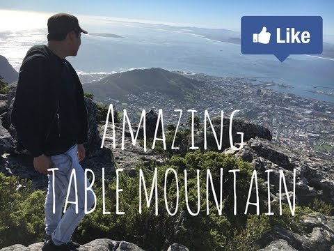 TABLE MOUNTAIN-CAPE TOWN   Travel Vlog