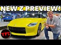 I get Up Close With The Nissan Z Proto — Here's A Preview Of What's Coming In August!