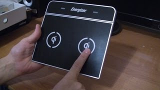 Обзор индуктивной зарядки Energizer Qi-Enabled 3 Position
