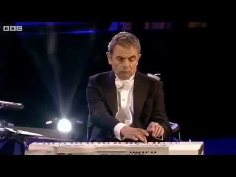 Mr Bean's Olympic orchestral appearance at the 2012 London opening ceremony