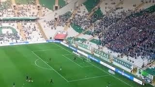 Bursaspor 3-2 Alanyaspor l Batalla Tribünleri Selamlıyor!