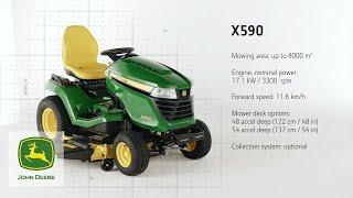 Trattorini Serie X500 John Deere