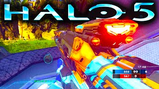 HALO 5 Gameplay | RAID ON APEX 7 New Weapons | Warzone 1080p 60fps (Halo 5: Guardians WARZONE)
