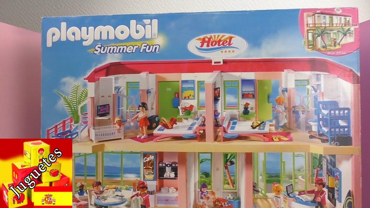 Download Playmobil en español: Unboxing del Hotel Playmobil !!! Juguetes videos de juguetes en español
