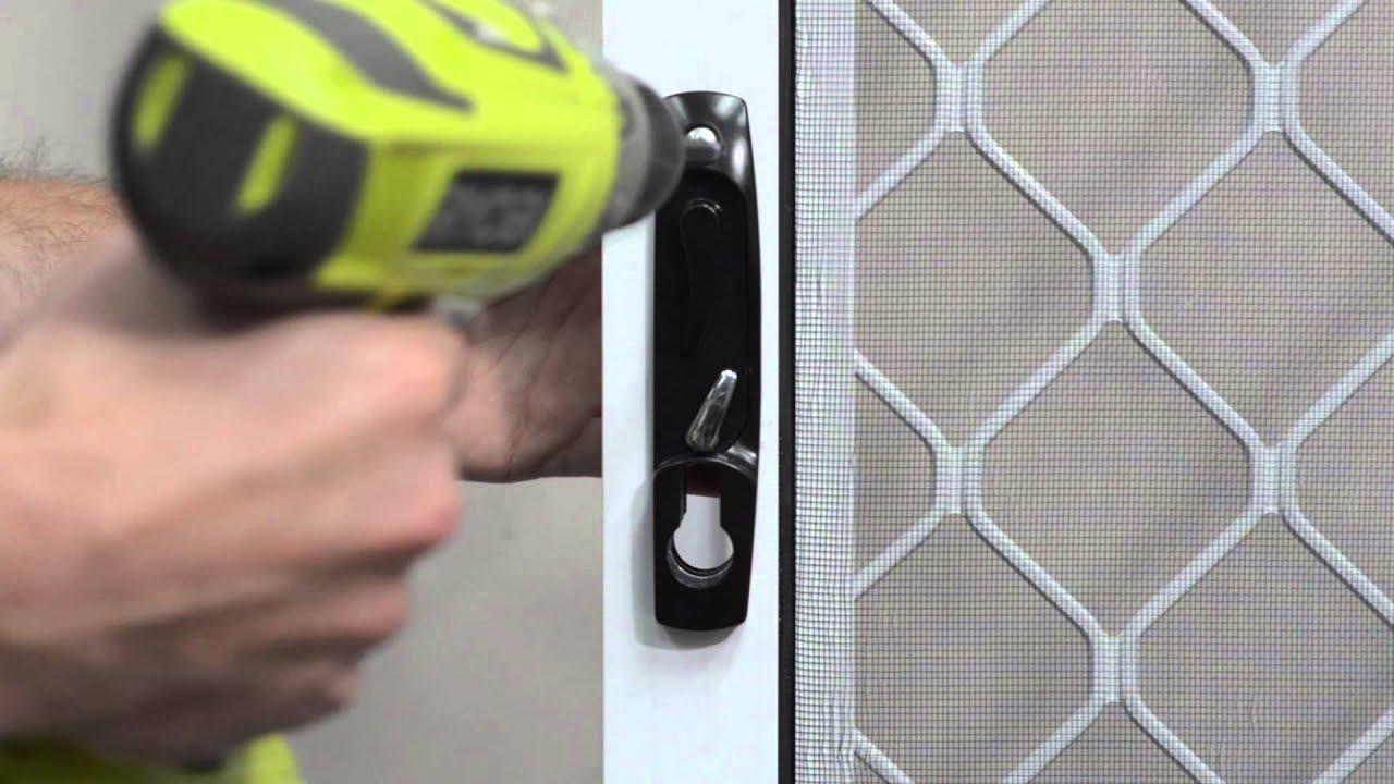 Doric Ds2210 Sliding Barrier Door Lock Instructional Video Youtube