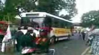 Video000 demo unjuk rasa 100 hari pemerintah ri sby budiono 28 januari 2010 jalan diponegoro jakarta