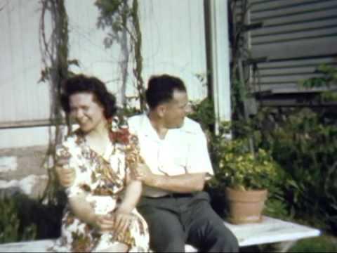 Wedding day from 1940 in Kansas City, Missouri.