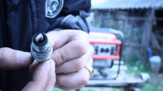 простий ремонт бензогенератора.