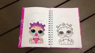 L.O.L.Surprise раскраска (часть 1) / coloring page *Miss Karolina*