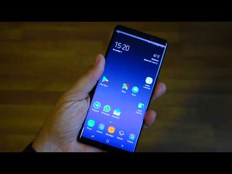 Review Samsung Experience Galaxy Note 8 launcher