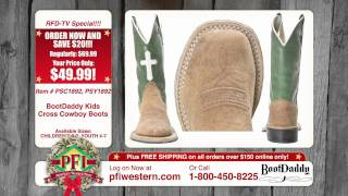 BootDaddy with Jama Kids Cross Cowboy Boots Holiday Special