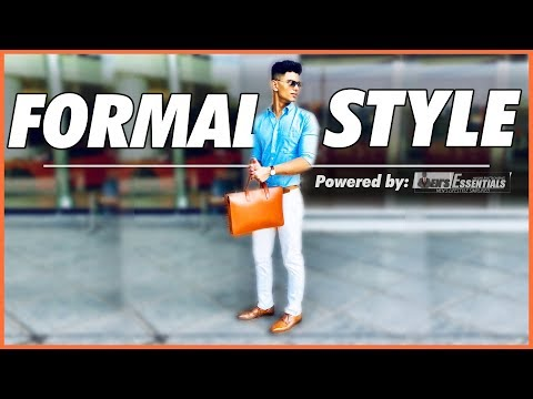 6 SMART FORMAL Style Tips Every Man Must KNOW | Formal Clothing for Indian Men | Mayank Bhattacharya