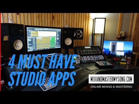 4 Must Have Recording Studios Apps!
