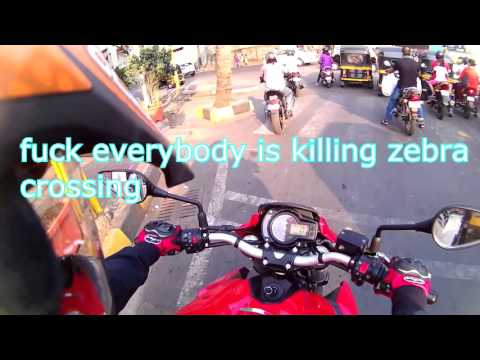 daily observations #2 on TNT Benelli 600i !! mumbai india