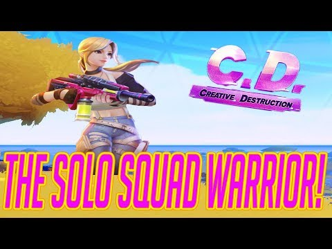 HOW TO WIN SOLO SQUADS AFK!!!! (Creative Destruction)
