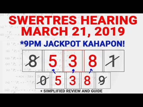 Repeat SWERTRES Hearing March 17 2019 by PH DAILY - You2Repeat