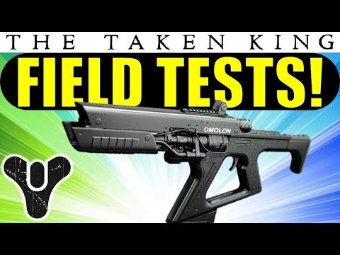 Destiny: Arms Day Field Test Weapons Guide! | Taken King Gunsmith Prototype Guns