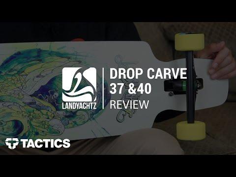 """Landyachtz Drop Carve 37"""" & 40"""" Complete Longboard Review - Tactics.com"""