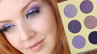 BEST Purple Eyeshadow Palette EVER?   Juvia's Place Violets Review