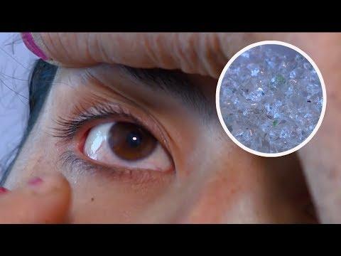 Девушка из Армении плачет кристаллами