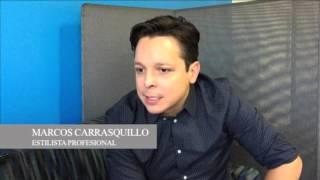 Entrevista con el estilista Marcos Carrasquillo