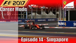 F1 2017 Career Mode Part 14 - Singapore (Domination)