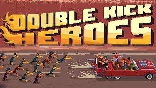 УБИВАЕМ ЗОМБИ МЕТАЛЛ МУЗЫКОЙ ☘ Double Kick Heroes
